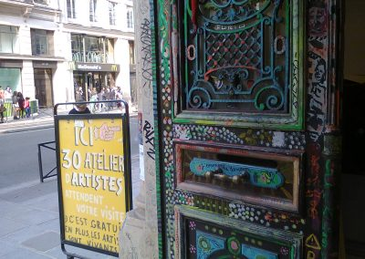 1.d./MŰVÉSZTELEPEK:Atelier des Portes Ouvertes Rivoli 59. PARIS 7