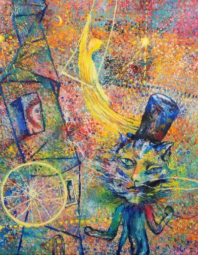 Csorján Melitta: Legújabb alkotásaim-Macska Mester 2021