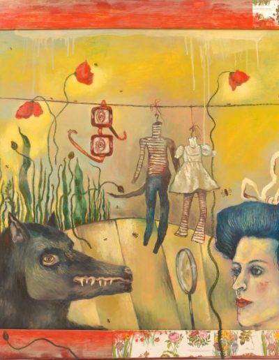 Csorján Melitta: Korábbi képeim-Psychodrama 2010