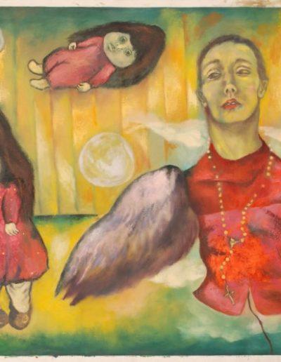 Csorján Melitta: Korábbi képeim-Yellow heaven 2008